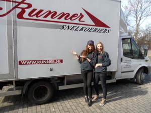 Het Runner promo-team
