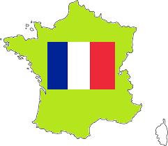 Frankrijk Kaart RunnerKoeriersdienst