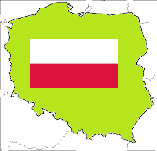 Polen Kaart Vlag RunnerKoeriersdienst