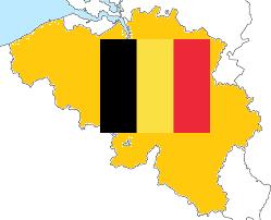 Belgie kaartRunnerKoeriersdienst
